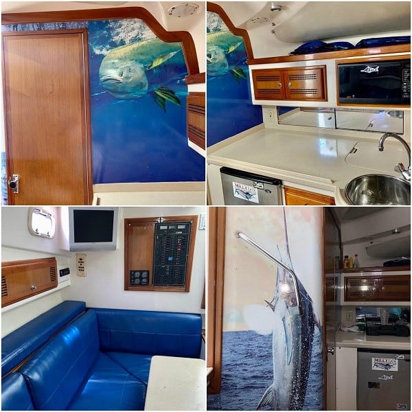 32' Cabo Express Interior