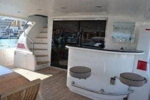 Rear deck bar
