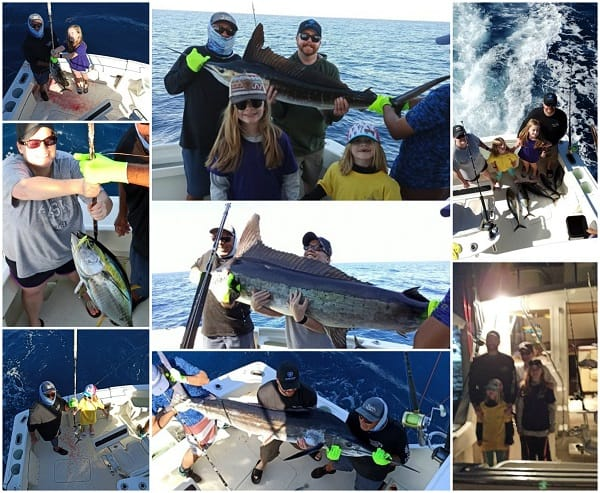 43' Hatteras collage