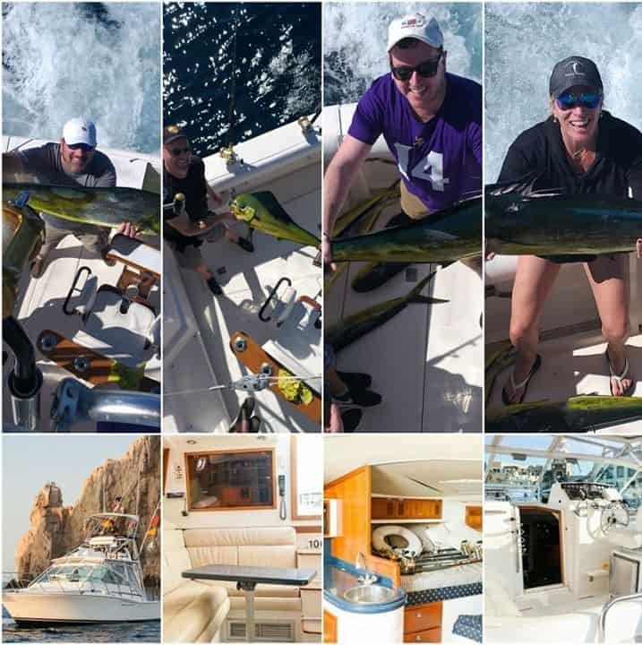 35' Cabo Express collage